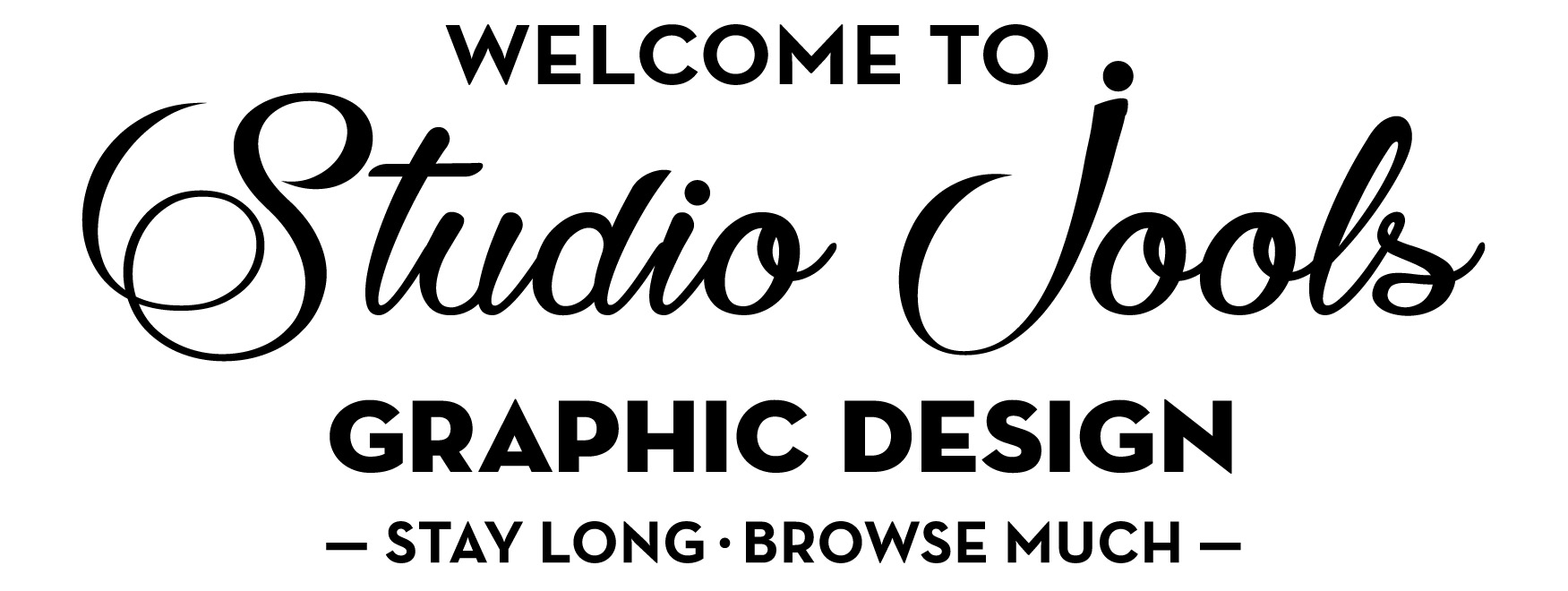 Welcome to Studio Jools graphic