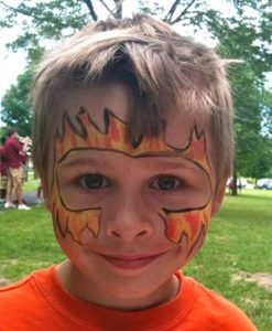 Fire Face boy